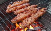 BBQ Garnelen in Honig - Senf - Sauce