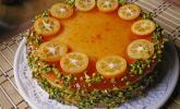 Käsekuchen mit Kumquats