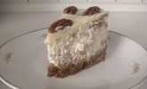 Pekannuss Cheesecake mit Guss