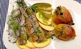 Matjes in Honig-Vinaigrette mit Apfel und Dill von Sarah