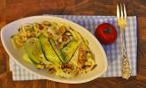 Zucchini-Salat mit Minz-Vinaigrette