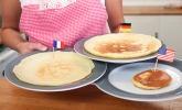 Platz 9: Pfannkuchen, Crêpe und Pancake