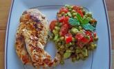 Erbsensalat mit Avocado und Minze
