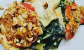 Vegane Spinat-Cashew-Lasagne