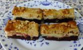 Exotischer Granatapfel-Jacobsfrucht Kuchen
