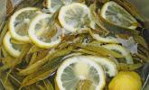 Sirup von Zitronenverbene