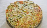 Gemüse - Speck - Tarte