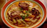 Fencheleintopf mit Parmesankartoffeln