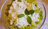 Sahnedressing für Kopfsalat