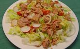 Blattsalat nach italienischer Art