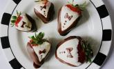 Erdbeeren im Anzug