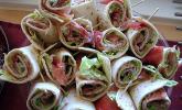 Schinken-Frischkäse-Wrap