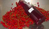 Johannisbeersirup aus rotem Johannisbeerensaft