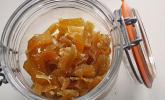 Kandierter Ingwer und Ingwer - Orangensirup