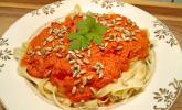 Fruchtige Paprika-Rahm-Soße