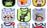9 teilige wasserdichte Babylätzchen