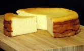 Platz 19: Saftiger Käsekuchen ohne Boden
