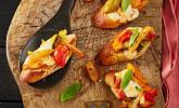 Gemüse - Mozzarella - Crostini