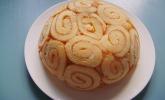 Pfirsich - Charlotte mit Käsesahne
