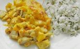 Pfirsich - Sahnehähnchen
