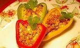 Gefüllte Paprika mit Chilli con Carne