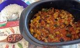 Veganes Gemüse-Chili aus der Mikrowelle