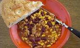 Chili con Carne mit weißen Bohnen