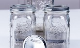 Ball Mason Jar 32oz Wide Mouth 3er/Set