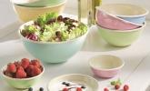 Obst- und Salatschüssel Classic Pastell von Riess