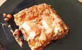 Vegetarische Lasagne mit Tofu
