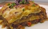 Linsen-Kürbis-Lasagne