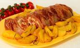 Mediterraner Hackbraten mit Oregano-Kartoffeln