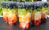 Fruit Salad to go mit Zitrus-Dressing