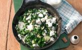 Mangold mit Schafskäse und Joghurt
