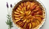 Nektarinen-Rosen-Lavendel-Tarte