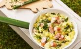 Zucchiniragout mit Würstchen à la Anne
