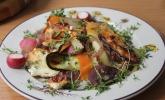 Platz 26: Vegetarisches Frühlingspfännchen mit Feta-Käse