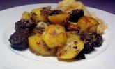 Leberwurst mit Bratkartoffeln