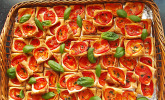 Blätterteig - Tomaten - Quadrate