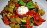 Paprika-Kartoffelgemüse vom Blech