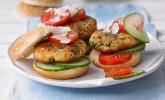 Kichererbsen-Burger