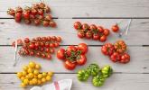Frische Tomaten auf's Brot