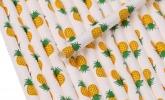 Ananas-Trinkhalme