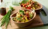 Couscous-Salat lecker würzig