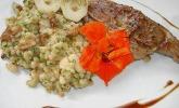 Lammkoteletts mit Graupen - Risotto und Pfifferlingen