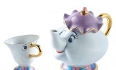Mrs. Potts & Chip Teekanne mit Tasse
