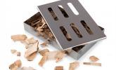 Räucherbox aus rostfreiem Stahl