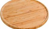 Pizza-Teller aus Bambus
