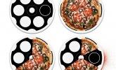 Pizza-Teller Russisch Roulette