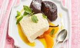 Schokotörtchen + Vanilleparfait
